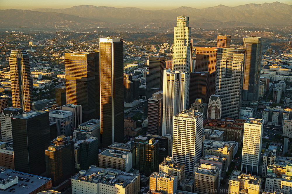 Downtown Los Angeles @ Sunset