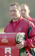 © Peter Spurrier/ Intersport, Images  020 8 876 8611<br /> email images@Intersport,.co.uk<br /> Photo Peter Spurrier<br /> 19/03/2003<br /> Sport - Rugby - Six Nations Championships:<br /> England Squard Training at Pennyhill Park<br /> Richard Hill