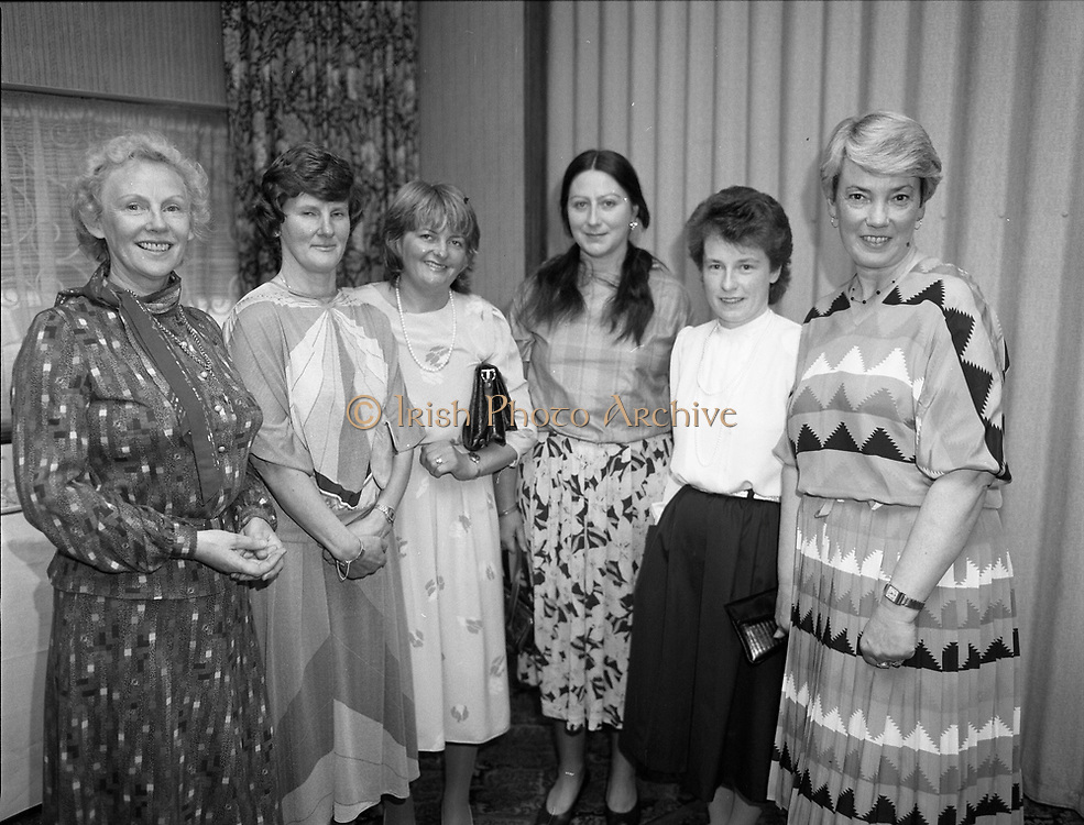 Irish Cookery contest awards at the Montrose Hotel, Dublin,<br /> 31st May 1984
