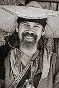 Mountain Man in the Taos style at Historic Fort Bridger.