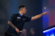 Ryan Meikle (England) during the William Hill World Darts Championship at Alexandra Palace, London, United Kingdom on 20 December 2020.