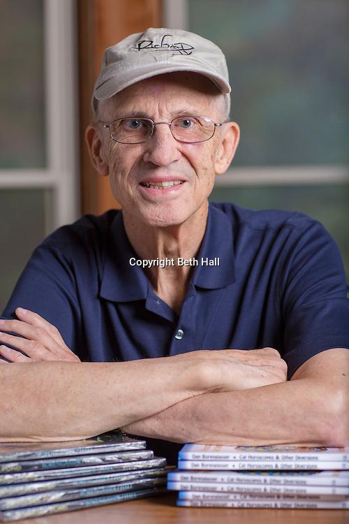 Environmental portrait of author Dan Borengasser at his home in Springdale, Arkansas.