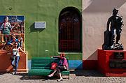 Buenos Aires, street scene.