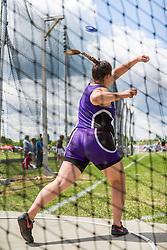 Maine State Track & Field Meet, Class B: Rachael Bergeron, Waterville, girls discus