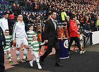 15/03/15 SCOTTISH LEAGUE CUP FINAL<br /> DUNDEE UTD v CELTIC<br /> HAMPDEN - GLASGOW<br /> Walk out