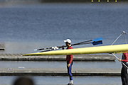 Seville. SPAIN, 18.02.2007, competing in Sundays final, at the FISA Team Cup, held on the River Guadalquiver course. [Photo Peter Spurrier/Intersport Images]    [Mandatory Credit, Peter Spurier/ Intersport Images]. , Rowing Course: Rio Guadalquiver Rowing Course, Seville, SPAIN,