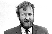 Robin Glendinning, Western Organizer, Alliance Party of N Ireland, founder member, March 1972. 197203040106<br /> <br /> Copyright Image from Victor Patterson, Belfast, UK, BT9 5HG<br /> <br /> t: +44 28 9066 1296 (from Rep of Ireland 048 9066 1296)<br /> m: +44 7802 353836<br /> <br /> victorpattersonbelfast@gmail.com<br /> www.victorpatterson.com<br /> <br /> Please see my Terms and Conditions of Use at https://www.victorpatterson.com/page2<br /> It is IMPORTANT that you familiarise yourself with them.<br /> <br /> Images used on the Internet incur an additional cost and must be visibly watermarked i.e. © Victor Patterson within the body of the image and copyright metadata must not be deleted. Images used on the Internet have a size restriction of 4kbs and are chargeable at rates available at victorpatterson.com.<br /> <br /> This image is only available for the use of the download recipient i.e. television station, newspaper, magazine, book publisher, etc, and must not be passed on to any third party. It is also downloaded on condition that each and every usage is notified within 7 days to victorpattersonbelfast@gmail.com.<br /> <br /> The right of Victor Patterson to be identified as the author is asserted in accordance with The Copyright Designs And Patents Act (1988). All moral rights are asserted.
