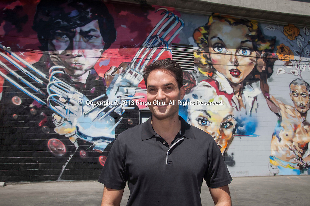 Adam Bierman, co-founder of a company called MedMen, who has helped open four medical marijuana dispensaries in the city of Los Angeles in the last two months. (Photo by Ringo Chiu/PHOTOFORMULA.com)