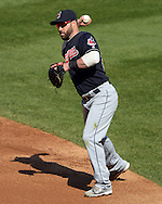 CHICAGO - MAY 23:  Jason Kipnis #22 of the Cleveland Indians fields against the Chicago White Sox during game one of a double header on May 23, 2016 at U.S. Cellular Field in Chicago, Illinois.  The White Sox defeated the Indians 7-6.  (Photo by Ron Vesely)   Subject:   Jason Kipnis