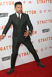 August 29, 2017 - London, London, United Kingdom - Image Licensed to i-Images Picture Agency. 29/08/2017. London, United Kingdom. Dominic Cooper arriving at the Stratton premiere in London.  Picture by Stephen Lock / i-Images (Credit Image: © Stephen Lock/i-Images via ZUMA Press)