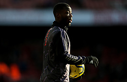 Nicolas Pepe of Arsenal during the warm up - Mandatory by-line: Arron Gent/JMP - 18/01/2020 - FOOTBALL - Emirates Stadium - London, England - Arsenal v Sheffield United - Premier League
