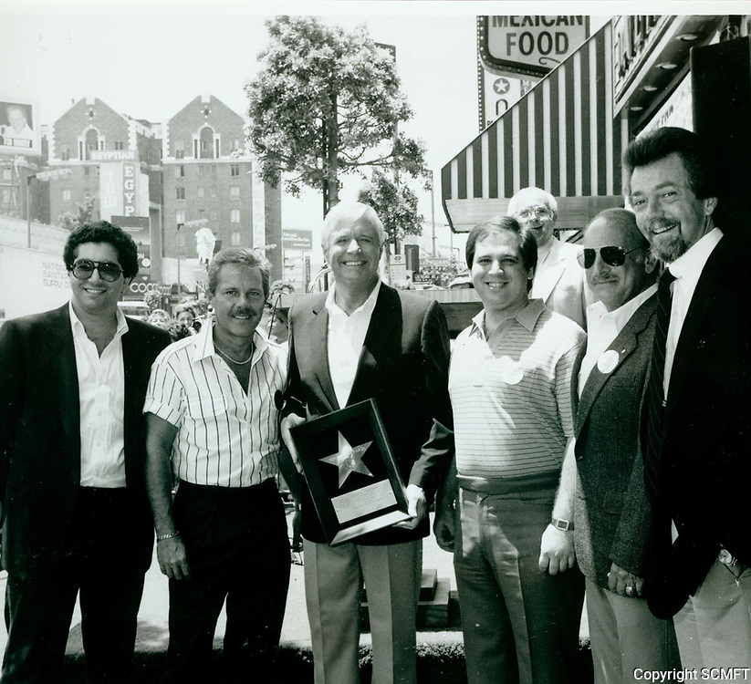 1985 George Peppard's Walk of Fame ceremony
