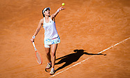 Nadia Podoroska of Argentina in action during the second round of the 2021 Internazionali BNL d'Italia, WTA 1000 tennis tournament on May 12, 2021 at Foro Italico in Rome, Italy - Photo Rob Prange / Spain ProSportsImages / DPPI / ProSportsImages / DPPI