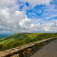"""""""Generous Vista""""<br /> <br /> A wonderful and scenic view along skyline Drive in the Blue Ridge Mountains!!<br /> <br /> The Blue Ridge Mountains by Rachel Cohen"""