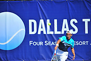 Tatsuma Ito of Japan competes during the Dallas Tennis Classic at the Four Seasons in Las Colinas on Wednesday, March 13, 2013. (Cooper Neill/The Dallas Morning News)