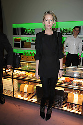 The HON.SOPHIA HESKETH at a party hosted by Prada to celebrate launch of a book documenting the company's diverse projects in fashion, architecture, film and art held at their store 16/18 Old Bond Street, London on 19th November 2009.