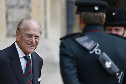 File photo dated 22/07/2020 of The Duke of Edinburgh during a ceremony for the transfer of the Colonel-in-Chief of the Rifles from the Duke to the Duchess of Cornwall. The Duke of Edinburgh has died, Buckingham Palace has announced. Issue date: Friday April 9, 2020.. See PA story DEATH Philip. Photo credit should read: Adrian Dennis/PA Wire