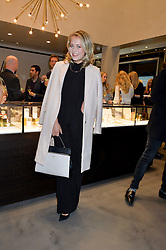 POPPY JAMIE at a party to celebrate the launch of the Monica Vinader London Flagship store at 71-72 Duke of York Square, London SW3 on 4th December 2014.