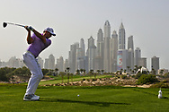 Sergio Garcia (ESP) on the 8th during Round 2 of the Omega Dubai Desert Classic, Emirates Golf Club, Dubai,  United Arab Emirates. 25/01/2019<br /> Picture: Golffile   Thos Caffrey<br /> <br /> <br /> All photo usage must carry mandatory copyright credit (© Golffile   Thos Caffrey)