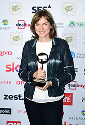 Fiona Bruce attending the TRIC Awards 2019 50th Birthday Celebration held at the Grosvenor House Hotel, London.