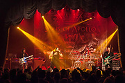 Jeff Scott, Derek Sherinian, Billy Sheehan, Mike Portnoy and RonThal during Sons of Apollo performance at The Opera House.<br /> <br /> Toronto, Canada<br /> April 20th 2018
