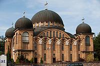 25.07.2012 Bialystok N/z cerkiew Hagia Sophia przy ul Trawiastej fot Michal Kosc / AGENCJA WSCHOD