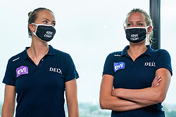Madelein Meppelink, Sanne Keizer during press conference King of the Court Utrecht on 9 september 2020 in Utrecht.