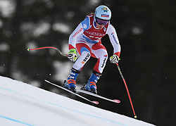 30.11.2017, Lake Louise, CAN, FIS Weltcup Ski Alpin, Lake Louise, Abfahrt, Damen, 3. Training, im Bild Jasmine Flury (SUI) // Jasmine Flury of Switzerland in action during the 3rd practice run of ladie's Downhill of FIS Ski Alpine World Cup at the Lake Louise, Canada on 2017/11/30. EXPA Pictures © 2017, PhotoCredit: EXPA/ SM<br /> <br /> *****ATTENTION - OUT of GER*****