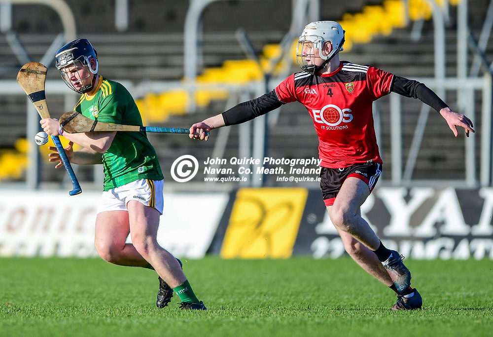 Shaun Donnelly,    in action for Meath in the Meath v Down All-Ireland MHC B for the Peadar O Liathain Cup at Pairc Tailteann in Navan<br /> <br /> Photo: GERRY SHANAHAN-WWW.QUIRKE.IE<br /> <br /> 20-12-2020