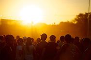 Fans during the Porter Robinson concert at the 2013 X Games Foz do Iguacu in Foz do Iguaçu, Brazil. ©Brett Wilhelm
