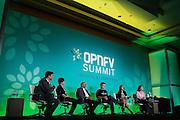 The Linux Foundation hosts its OPNFV Summit at the Hyatt Regency San Francisco Airport in Burlingame, California, on November 12, 2015. (Stan Olszewski/SOSKIphoto)