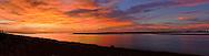 Florida, Ft George, Little Talbot Island SP, Huguenot Memorial Park, panorama, sunrise