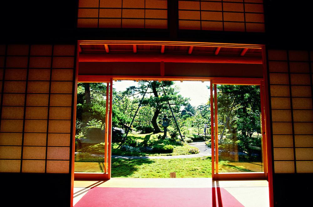Shigure-tei Tea House, Kenroukuen Gardens, Kanazawa, Japan