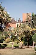 A hotel in the capital city of Bamako in Mali