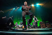Flogging Molly performing at the Pageant in St. Louis on March 10, 2010.