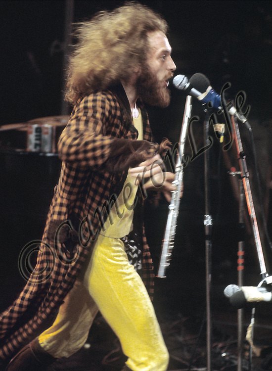 Ian Anderson (Jethro Tull) - Isle of Wight Music Festival 1970, by Charles Everest.