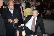 ALAN YENTOB; NORMAN ROSENTHAL, Liberatum Cultural Honour  for John Hurt, CBE in association with artist Svetlana K-Lié.  Spice Market, W London - Leicester Square