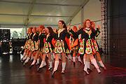 Photo of Irish Step Dancers at the Dublin Irish Festival in Dublin, Ohio.