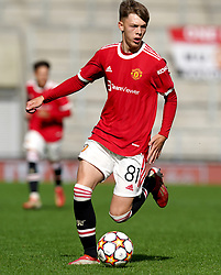 Manchester United's Sam Mather during the UEFA Youth League, Group F match at Leigh Sports Village, Manchester. Picture date: Wednesday September 29, 2021.