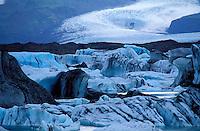 Islande - Skaftafellsjökull
