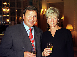 MR & MRS MERRICK FRANCIS, he is the son of best selling writer Dick Francis, at a party in London on 2nd September 1999.MUW 13