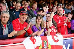 Bristol City fans  - Mandatory by-line: Dougie Allward/JMP - 15/08/2017 - FOOTBALL - Griffin Park - Brentford, England - Brentford v Bristol City - Sky Bet Championship