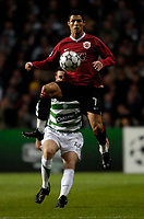 Photo: Jed Wee.<br /> Glasgow Celtic v Manchester United. UEFA Champions League, Group F. 21/11/2006.<br /> <br /> Manchester United's Cristiano Ronaldo.