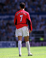 Christiano Ronaldo (Manchester United) Newcastle United v Manchester United, FA Premiership, 23/08/2003. Credit: Colorsport / Matthew Impey