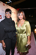 l to r: Toccara and Lisa Raye at the Celebrity Catwalk co-sponsored by Alize held at The Highlands Club on August 28, 2008 in Los Angeles, California..Celebrity Catwork for Charity, a fashion show/lifestyle event, raises funds & awareness for National Animal Rescue.
