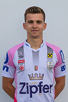 Download von www.picturedesk.com am 16.08.2019 (13:58). <br /> PASCHING, AUSTRIA - JULY 16: Valentino Mueller of LASK during the team photo shooting - LASK at TGW Arena on July 16, 2019 in Pasching, Austria.190716_SEPA_19_031 - 20190716_PD12461