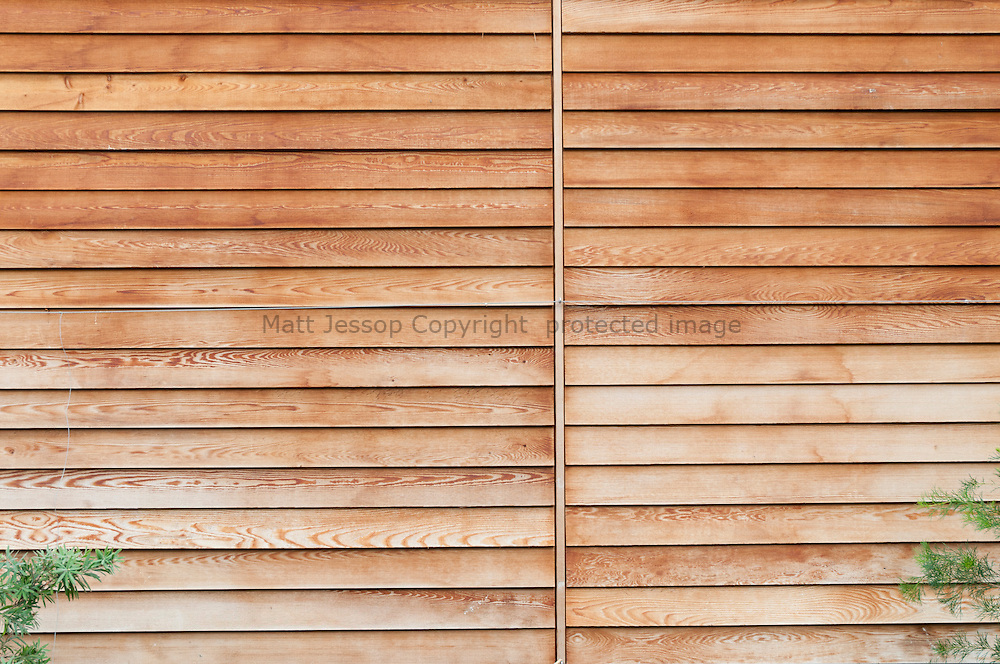 Timber fence panel