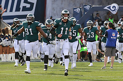 2017 Philadelphia Eagles at Los Angeles Rams at Los Angeles Coliseum on December 10, 2017 in Los Angeles, California. (Photo by Hunter Martin/Philadelphia Eagles)