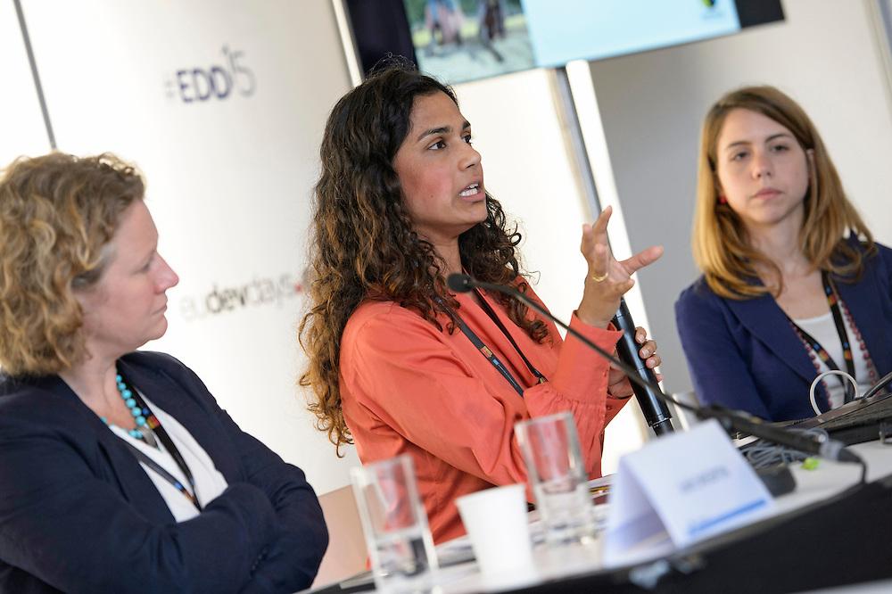 03 June 2015 - Belgium - Brussels - European Development Days - EDD - Trade - Empowering smallholders participation in global supply chains - Shivani Reddy , Policy officer © European Union