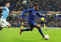 Football - 2018 / 2019 Europa League - Round of Thirty-Two, Second Leg: Chelsea (2) vs. Malmo FF (1)<br /> <br /> Callum Hudson - Odoi of Chelsea, at Stamford Bridge.<br /> <br /> COLORSPORT/ANDREW COWIE